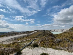 China Clay Works at Lee Moor